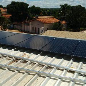 02 - Instalação dos módulos fotovoltaicos - 80 x 270Wp Sun Edison