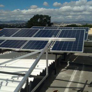 02 - Instalação dos módulos fotovoltaicos - 16 x 310Wp Trina Solar