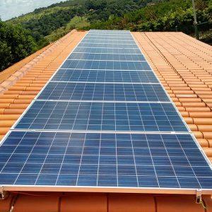 04 - Instalação dos módulos fotovoltaicos - 13 x 310Wp Trina Solar
