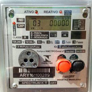 09 - Medidor eletrônico bidirecional