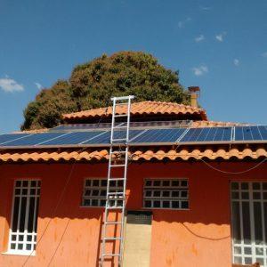 04 - Instalação dos módulos fotovoltaicos - 16 x 310Wp Trina Solar